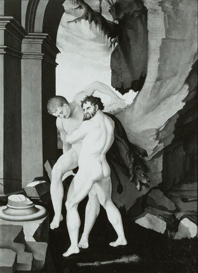 Herkules und Antäus