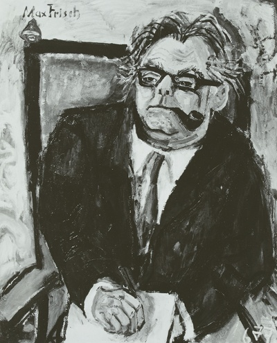 Image from object titled Max Frisch