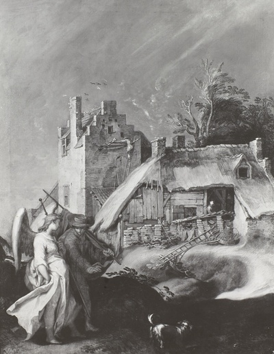 Landschaft mit Tobias und dem Engel