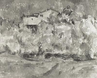 Landschaft bei Aix