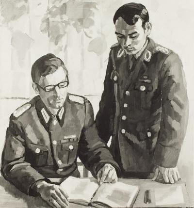 Studierende Offiziere