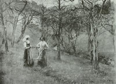 Obstgarten in Kutterling