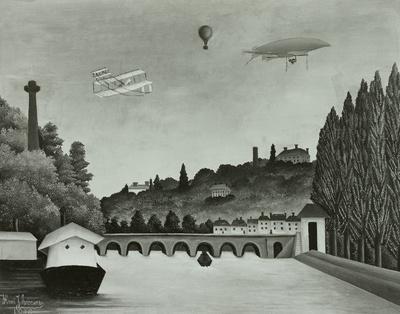 Blick auf die Brücke in Sévres