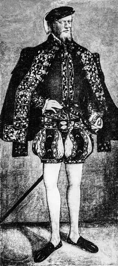 Bildnis des Kurfürsten August von Sachsen
