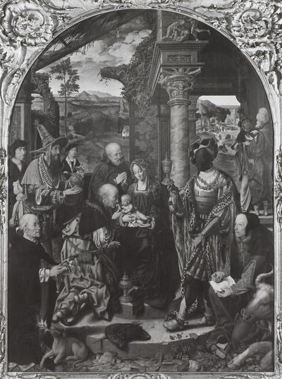 Die (große) Anbetung der Könige