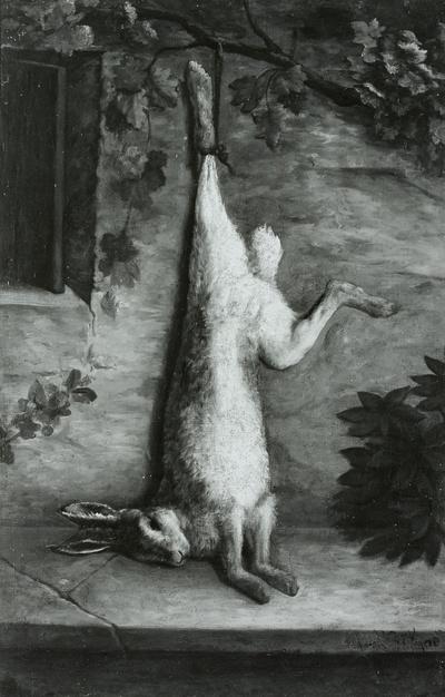 Stilleben mit Hasen