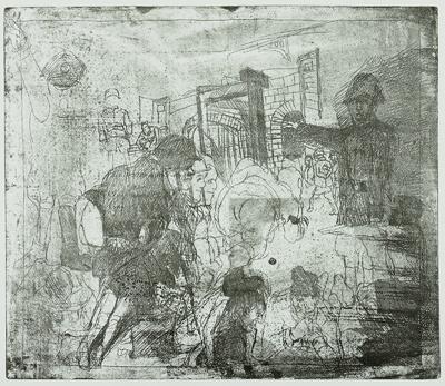 Ein Totentanz, Bl. 11: Der panmilitärische Parasitenstaat (Drittes Reich)