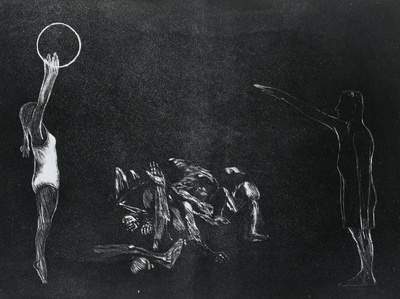 Ein Totentanz, Bl. 15: Lebensborn (Der SS-Staat)