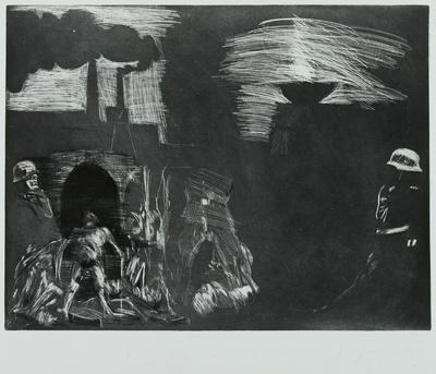 Ein Totentanz, Bl. 28: Vom Todeskult zur Totenfabrik