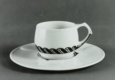 Tasse mit Untertasse