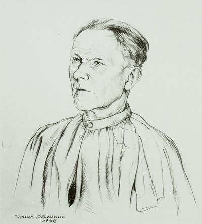 Der Bildhauer Peter Stammen