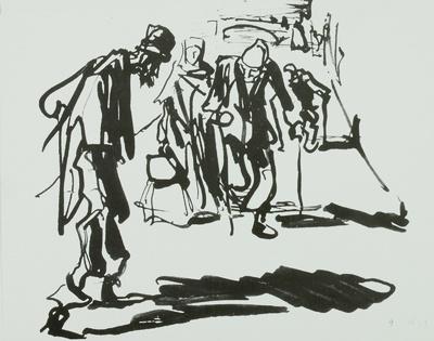 "Illustration zu Charles de Coster ""Smetse der Schmied"""