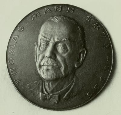 Plakette Thomas Mann