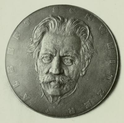 Plakette Albert Schweizer