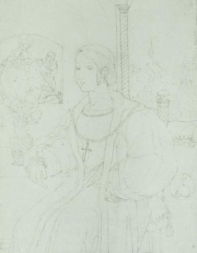 Bildnis einer Dame in Renaissancetracht