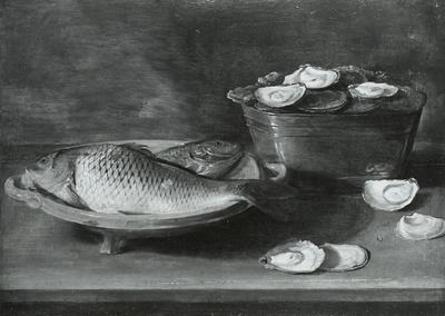 Austern und Spiegelkarpfen