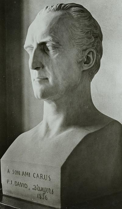 Büste des Malers, Arztes und Philosophen Carl Gustav Carus