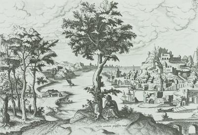 Landschaft mit dem Propheten Jonas