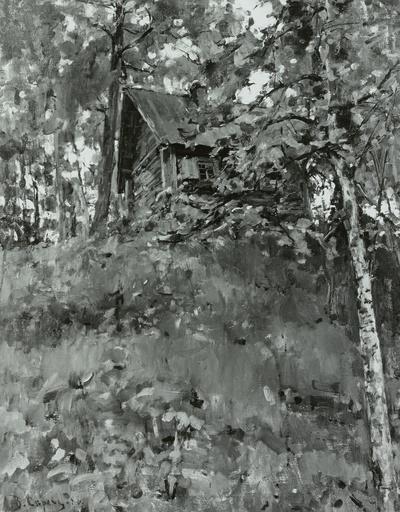 Altes Badehaus in Domotkanow