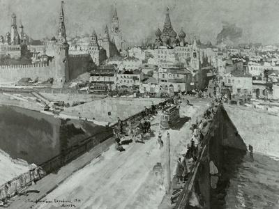 Die Moskworetzki-Brücke