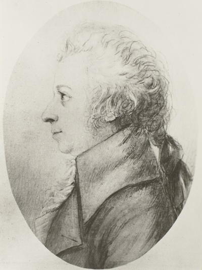Image from object titled Bildnis Wolfgang Amadeus Mozart