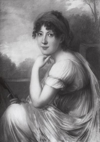 Porträt der Prinzessin Victoire Albertine von Schönburg