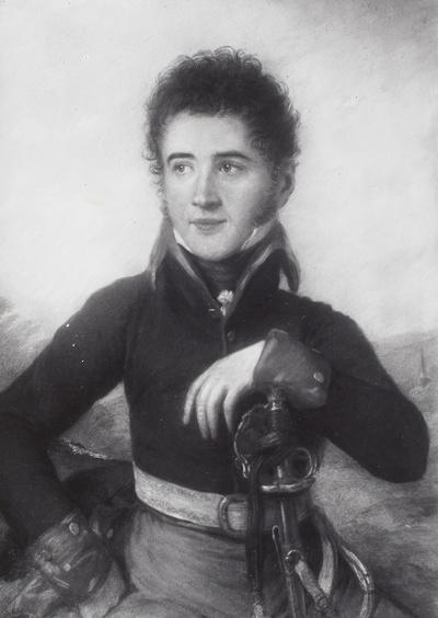 Porträt des Fürsten Friedrich Alfred von Schönburg-Hartenstein