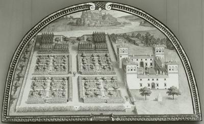 Die Villa Ambrogiono (?)