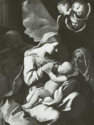 Die heilige Familie mit der heiligen Elisabeth