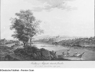 Kaditz und Brießnitz ohnweit Dresden