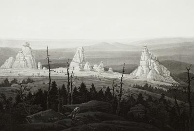 Die Dreisteine im Riesengebirge