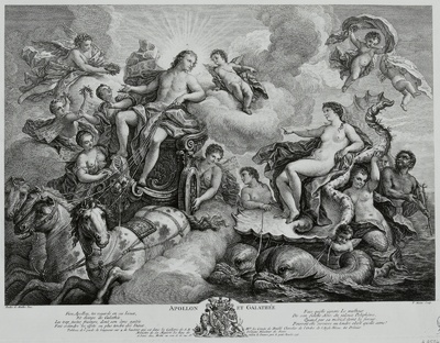 Image from object titled Apollon et Galathée
