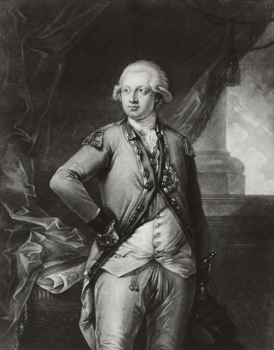Bildnis Frederick Augustus (Herzog of York and Albany, Bischof von Osnabrück), Prinz von England, General
