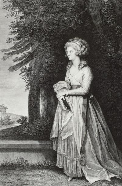 Bildnis Friederike Charlotte, Prinzessin von Preußen