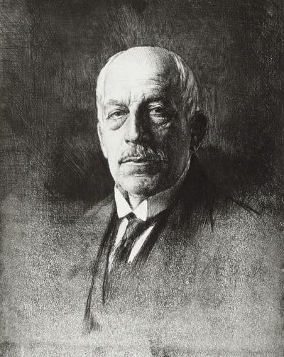 Bildnis Dr. Fortunat von Schubert-Soldem