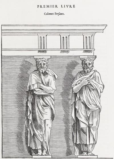 Premier Livre. Colonnes Persanes