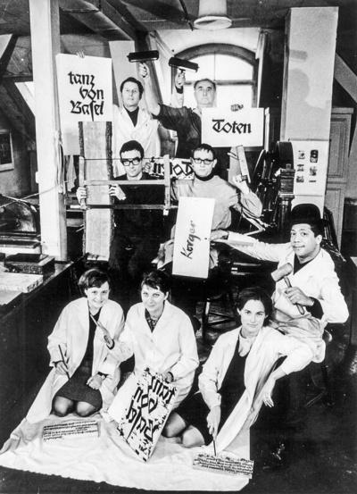 Albert Kapr und sein Totentanz-Team