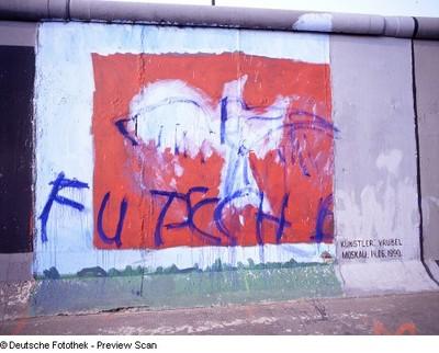Ohne Titel; Berliner Mauer