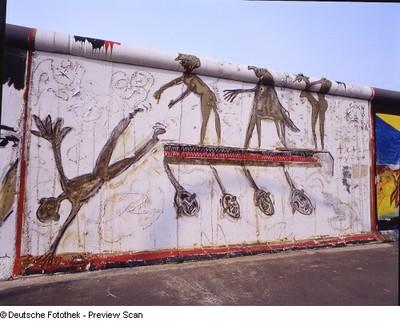Ger-Mania; Berliner Mauer