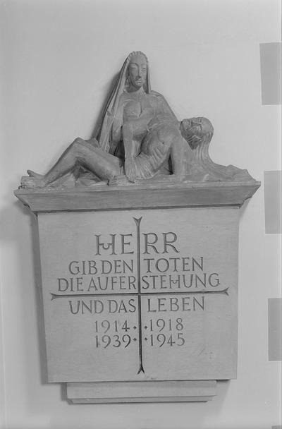 Denkmal für die Toten infolge des 1. und 2. Weltkrieges