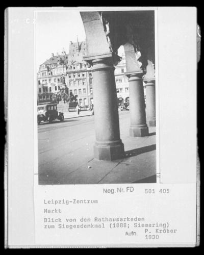 Markt; Siegerdenkmal