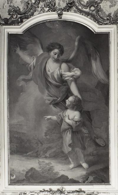 Der Hl. Tobias als Kind mit Schutzengel