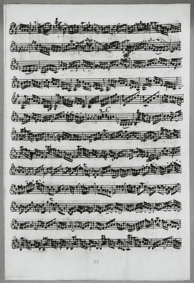 Stimmensatz: Cum Sancto Spiritu (T. 4-117), Violine I