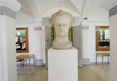 Johann Wolfgang von Goethe (Porträtkopf)