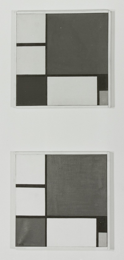 Composition with Red, Yellow and Blue, 1983 (2x)