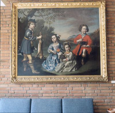 Die vier Kinder des Bremer Ratsapothekers d'Erberfeld