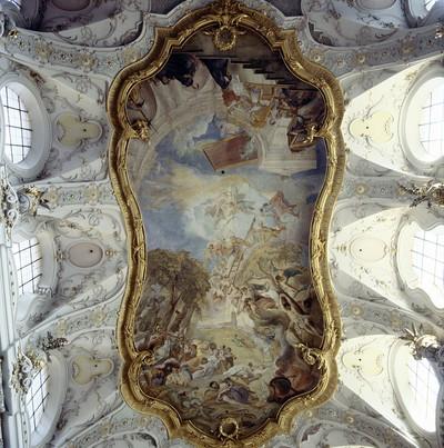 Glorifizierung des heiligen Benedikt und Ausbreitung der Missionstätigkeit des Ordens; Sankt Emmeram