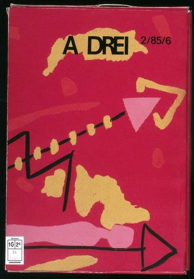 Künstlerzeitschrift: A drei ; 2 = H. 6