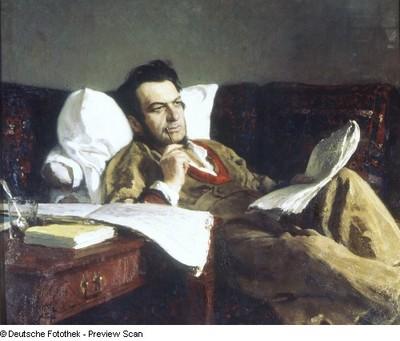 Der Komponist Michail Iwanowitsch Glinka