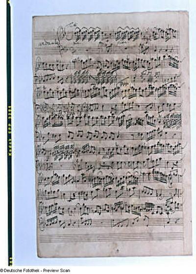 Violino primo: Andante, fol. 4